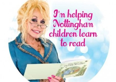 Dolly Parton Imagination Library launched into 2 new wards in Nottingham